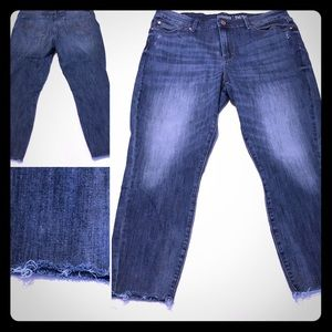 Levi's High Rise ankle skinny, 14, W32